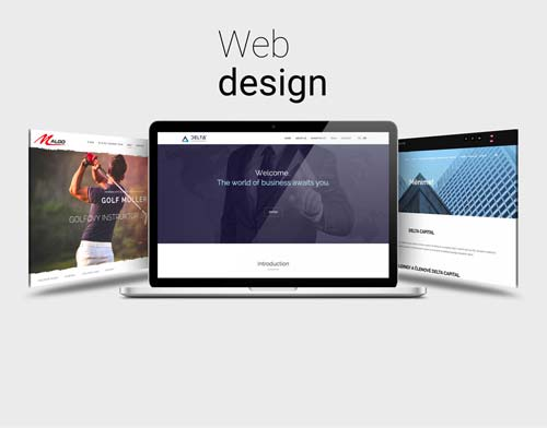Web design by DHMO