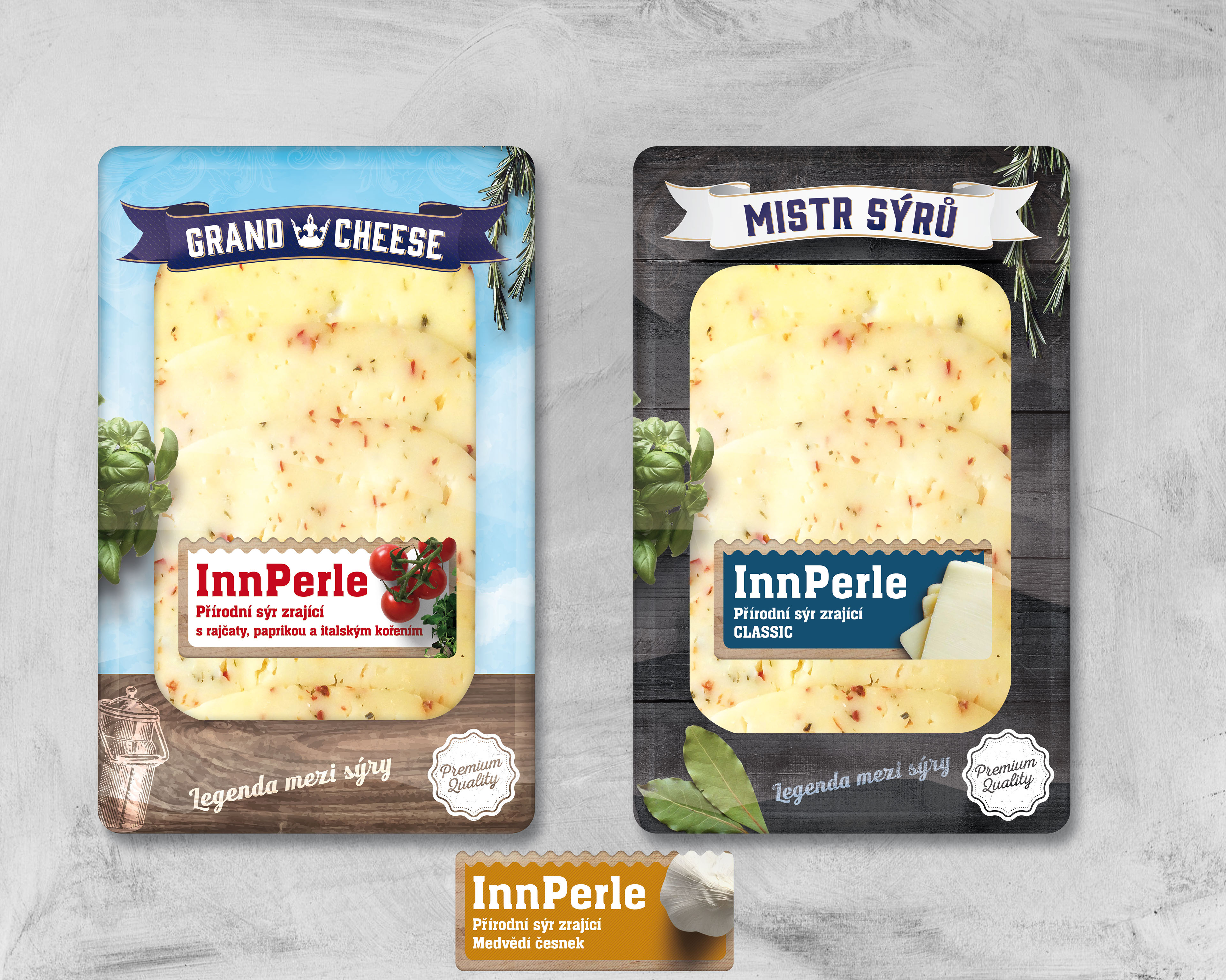 Packaging for New Cheese Brand
