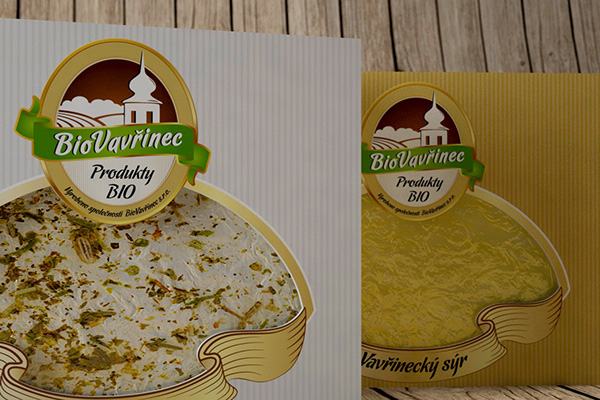 Bio Vavřinec - Company Logo and Product Packaging
