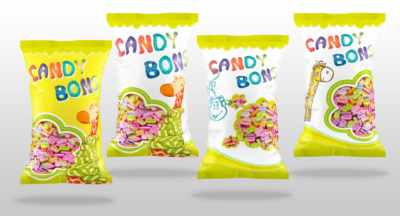 Candies - Packaging (concept)