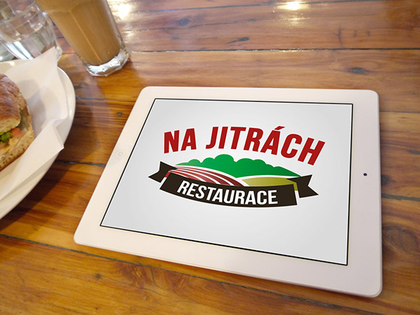 Na Jitrách corporate logo