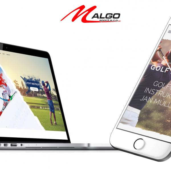 M-Algo web design