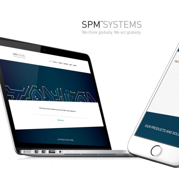 SPM Systems - Web design